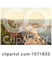 Photochrom Of Heligoland Germany Royalty Free Historical Stock Photo by JVPD