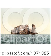 Photochrom Of North Point And Hengst Helgoland Germany Royalty Free Historical Stock Photo by JVPD