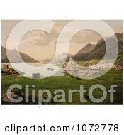 Photochrom Of Raftsund Norway Royalty Free Historical Stock Photography
