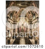 Photochrom Of Scalzi Venice Royalty Free Historical Stock Photography by JVPD