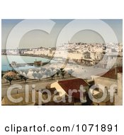 Photochrom Of Sousse Tunisia On The Gulf Of Hammamet Royalty Free Historical Stock Photo by JVPD
