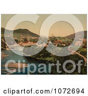 Photochrom Of Telemark Norway Royalty Free Historical Stock Photography by JVPD