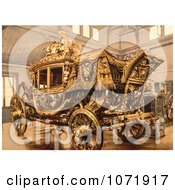 Photochrom Of The Carriage Of Charles X Royalty Free Historical Stock Photo