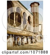 Photochrom Of The Mosque Of St Catherine Tunis Tunisia Royalty Free Historical Stock Photo by JVPD