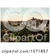 Photochrom Of The University Of Belgrade Serbia Royalty Free Historical Stock Photo by JVPD