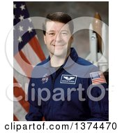 Photograph Of Astronaut Of Nicholas James MacDonald Patrick Royalty Free by JVPD