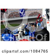 Pit Stop At Las Vegas Motor Speedway Free Stock Photography