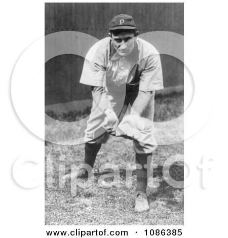 Pittsburgh Pirates Baseball Team's Shortstop, Honus Wagner - Free Historical Baseball Stock Photography by JVPD