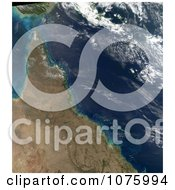 Plankton Bloom Between The Great Barrier Reef Queensland August 9th 2011 Royalty Free Stock Photography