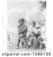 Pomo Indian Family Free Historical Stock Photography by JVPD