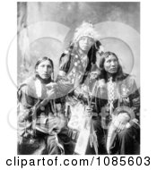 Poor Elk Shout For Eagle Shirt Sioux Indians Free Historical Stock Photography