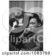 President Lyndon B Johnson And Rev Dr Martin Luther King Jr Historical Stock Photography