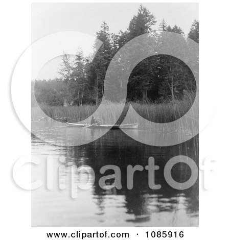 Quamichan Canoe - Free Historical Stock Photography by JVPD