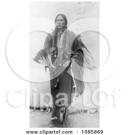Quanah Parker, Comanche Indian Chief - Free Historical Stock Photography by JVPD