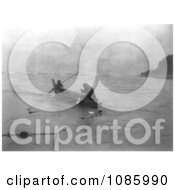 Quinault Indians Fishing Free Historical Stock Photography