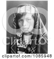 Quinault Woman Free Historical Stock Photography by JVPD