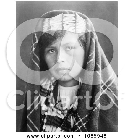 Quinault Woman - Free Historical Stock Photography by JVPD