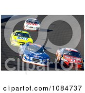 Race At The Las Vegas Motor Speedway Free Stock Photography