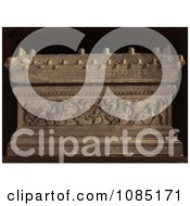 Rhe Sarcophagus Of Alexander The Great Royalty Free Stock Photography
