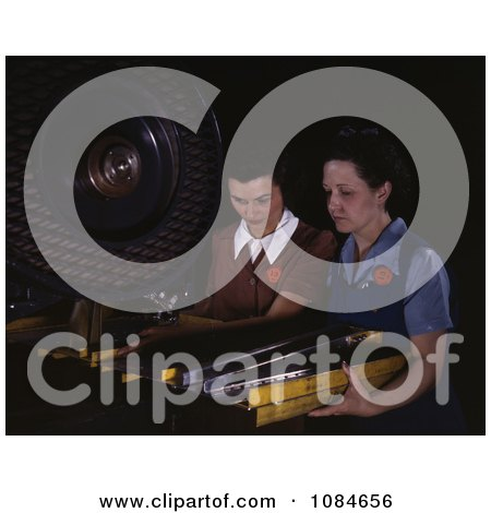 Riveters Punching Rivet Holes - Free Stock Photography by JVPD