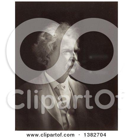 Royalty Free Historical Photo of Mark Twain, Samuel Langhorne Clemens, 1907 by JVPD