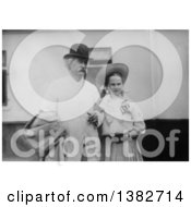 Royalty Free Historical Photo Of Mark Twain Samuel Langhorne Clemens And Dorothy Quick In 1907