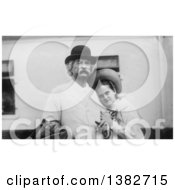 Royalty Free Historical Photo Of Mark Twain Samuel Langhorne Clemens And Dorothy Quick In 1907 by JVPD