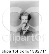 Royalty Free Historical Photo Of Mark Twain Samuel Langhorne Clemens by JVPD