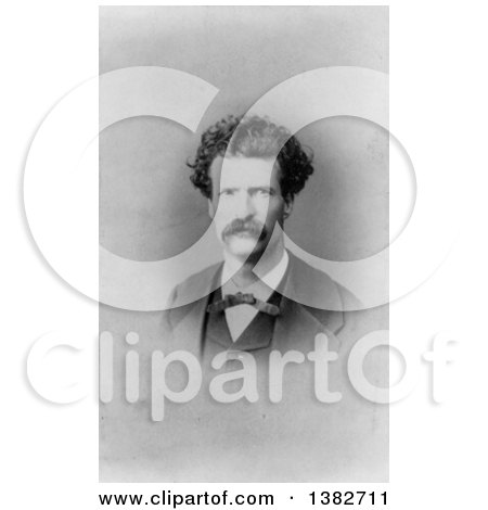 Royalty Free Historical Photo of Mark Twain, Samuel Langhorne Clemens by JVPD