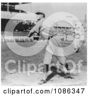 Rube Kroh Of The Chicago Cubs Throwing A Baseball In 1910 Free Historical Baseball Stock Photography by JVPD