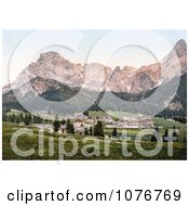 San Martino Di Castrozza Tyrol Austria Royalty Free Stock Photography