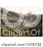Santa Christiana Santa Christiana Val Gardena Tyrol Austria Royalty Free Stock Photography