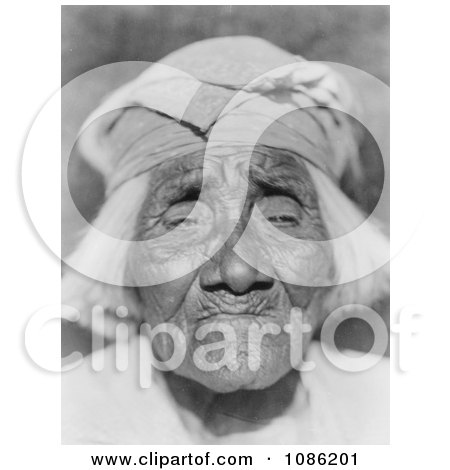 Santa Ysabel Woman - Free Historical Stock Photography by JVPD