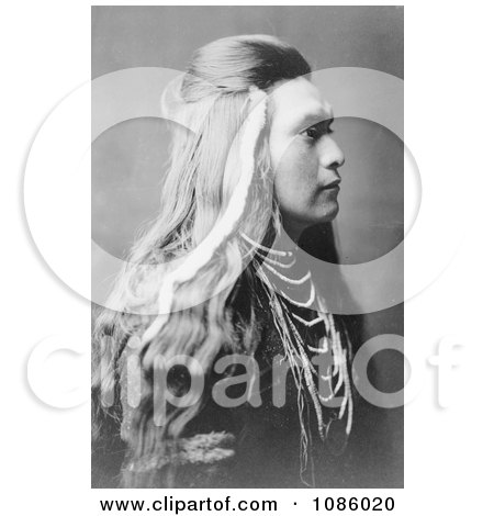 Sawyer, a Nez Perce Indian - Free Historical Stock Photography by JVPD