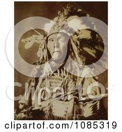 Shot In The Eye Sioux Native American Free Historical Stock Photography by JVPD