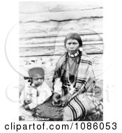 Sinkiuse Columbia Indian Mother Free Historical Stock Photography