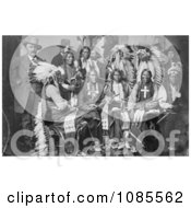Sioux And Arrapahoe Native Americans Free Historical Stock Photography