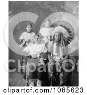 Sioux Family Free Historical Stock Photography