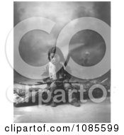 Sioux Indian Child John Lone Bull Free Historical Stock Photography