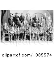 Sioux Indian Delegation Free Historical Stock Photography