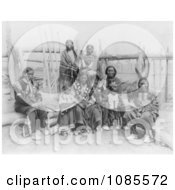 Sioux Indian Family Free Historical Stock Photography