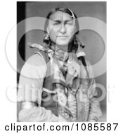 Sioux Indian Man Joe Black Fox Free Historical Stock Photography