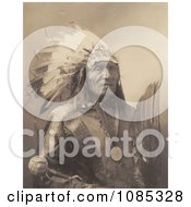 Sioux Indian Man Named He Dog Free Historical Stock Photography by JVPD