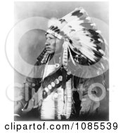 Sioux Indian Man Named Red Bird Free Historical Stock Photography by JVPD