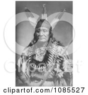 Sioux Indian Man Rushing Eagle Free Historical Stock Photography by JVPD