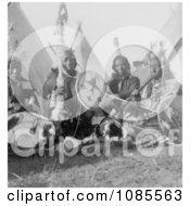 Sioux Indian Men Free Historical Stock Photography