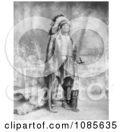 Sioux Indian Named Broken Arm Free Historical Stock Photography