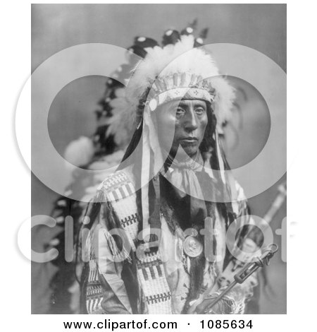 Sioux Indian Named Jack Red Cloud - Free Historical Stock Photography by JVPD