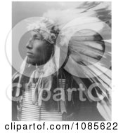 Sioux Indian Named James Lone Elk Free Historical Stock Photography