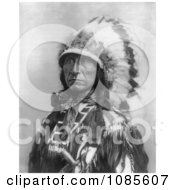 Sioux Indian Named Lone Bear Free Historical Stock Photography